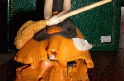 Droga camuflada en los pliegues de una muñeca