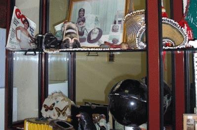 Varios objetos donde se ha camuflado droga