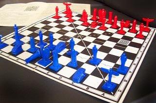 Nazis-ajedrez-militar