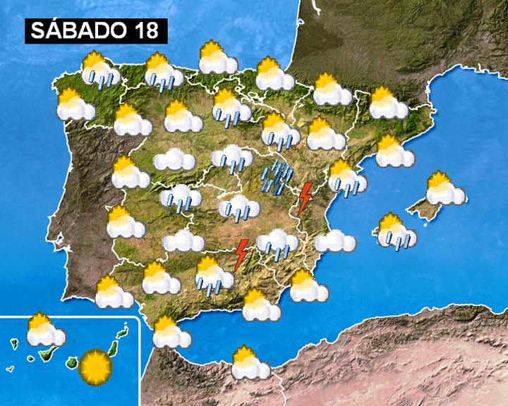 Mapa Del Tiempo España Fin De Semana.Atrapados En El Tiempo Abril 2009
