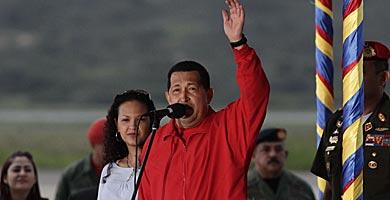 Chávez y maría