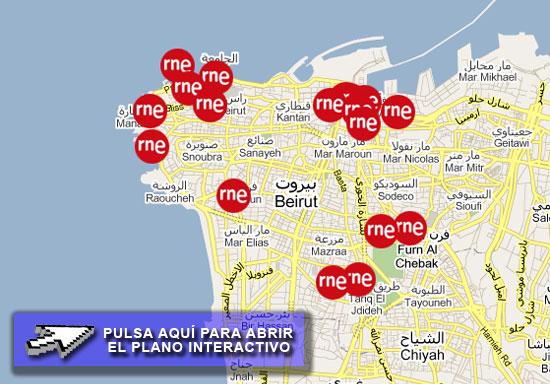 Mapa-de-Beirut
