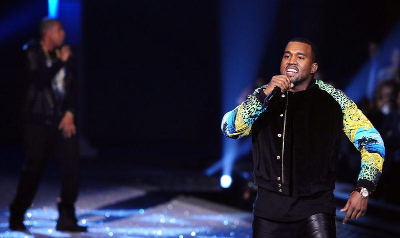 Kanye con Versace
