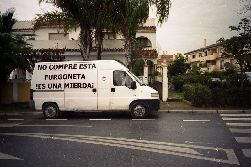 No compre esta furgoneta (Joaquín Torquemada - Juanjo Arevalillo)