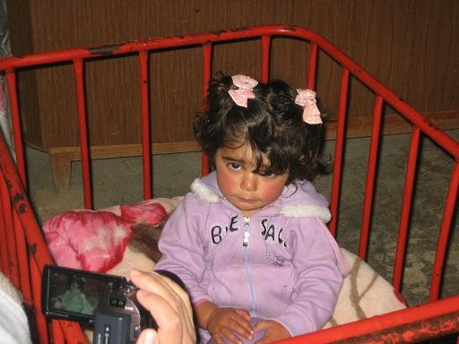 Niña palestina de Emnaizel
