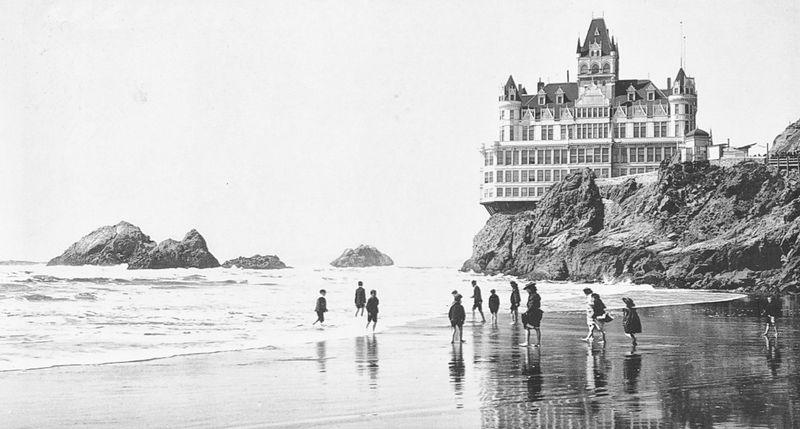 La Cliff House en su esplendor