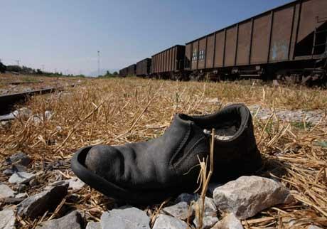 Zapato emigrante