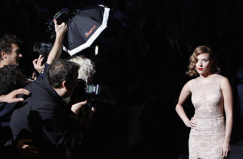 Scarlett Johansson en Milán.