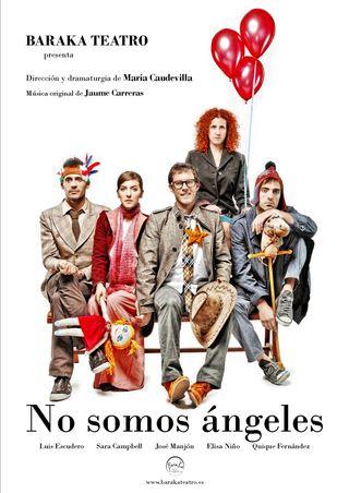 No somos ángeles - Cartel