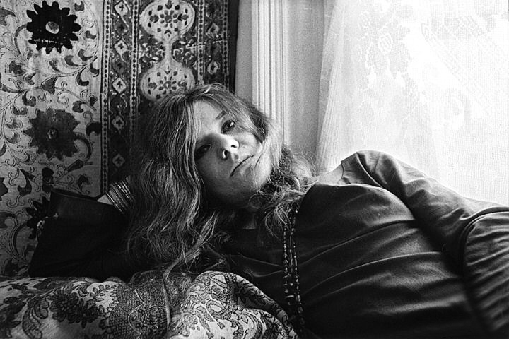 Janis Joplin en su casa de la calle Lyon