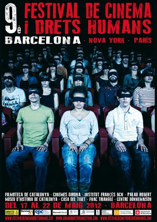 Cartel Festival de Cine y Derechos Humanos de Barcelona