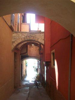 El centro histórico de Gargnano