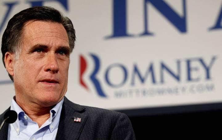 El exgobernador de Massachussets y candidato presidencial republicano, Mitt Romne [Foto: Reuters/Jeff Haynes]