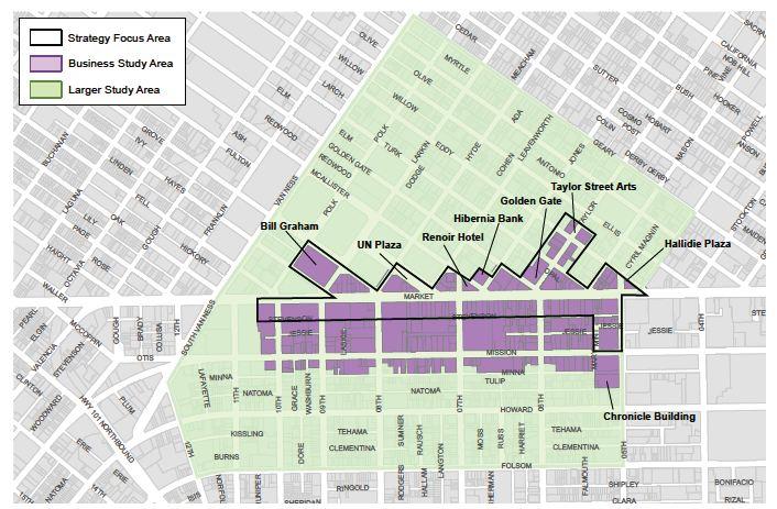 Zona del proyecto municipal