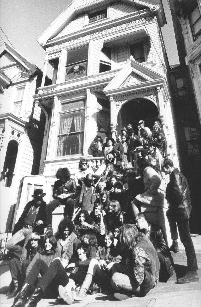 La casa-comuna de Grateful Dead en 1967