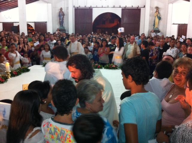 Juan iglesia llena