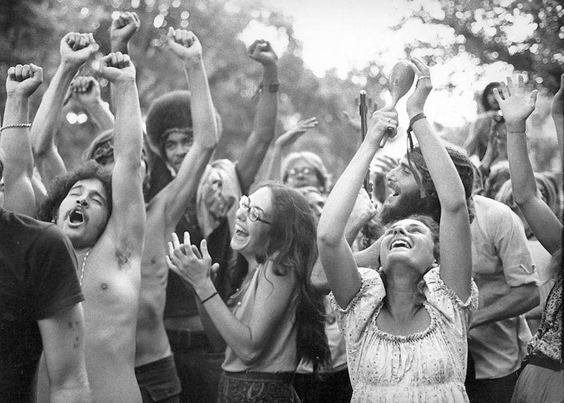 Human Be-In, 1967 [Foto: Robert Altman]