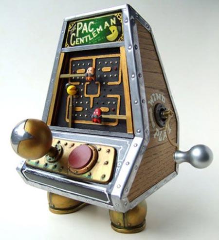 Pacman steampunk