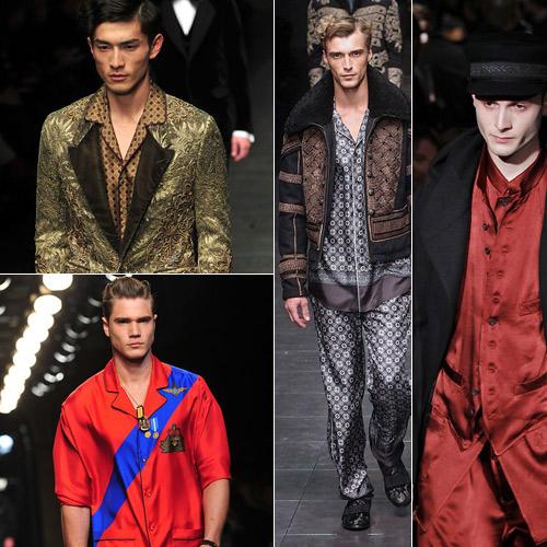 Look-pijama-en-Dolce&Gabbana,-Yamamoto-y-Versace