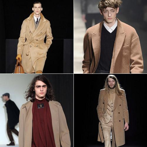 Camel-en-Louis-Vuitton,-Lanvin,-Agnes-B-y-Margiela