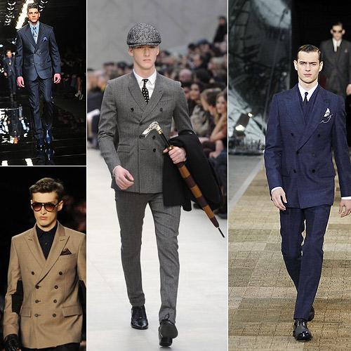 Chaqueta-cruzada-de-Versace,-Michael-Kors-(en-pequeño)-Burberry-y-Louis-Vuitton