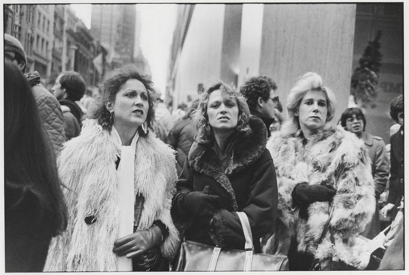 [Garry Winogrand, New York, ca. 1982–83. Garry Winogrand Archive, Center for Creative Photography, University of Arizona © The Estate of Garry Winogrand, courtesy Fraenkel Gallery, San Francisco]