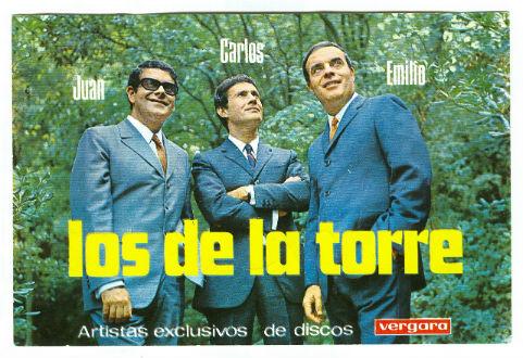 1968 Postal Los de la Torre a Vergara BLOG