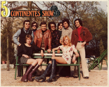 1973  5 Continentes Show BLOG