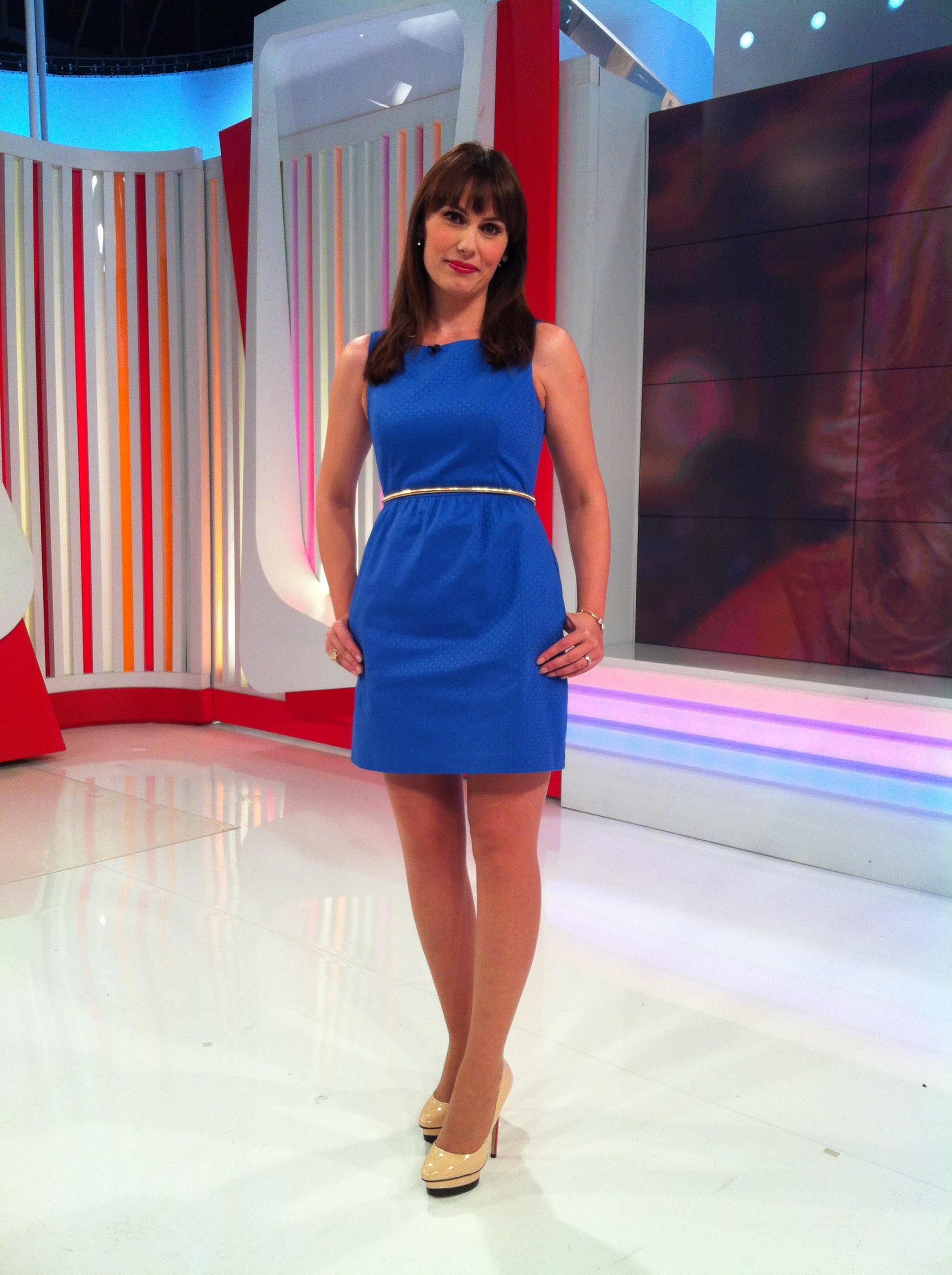 Zapatos para vestido azul electrico y blanco