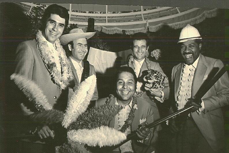 Josep Cunill al grup de MONCHO a La Masía 1969
