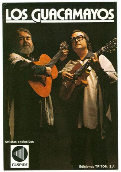 1981 Los Guacamayos a Discos Cúspide BLOG