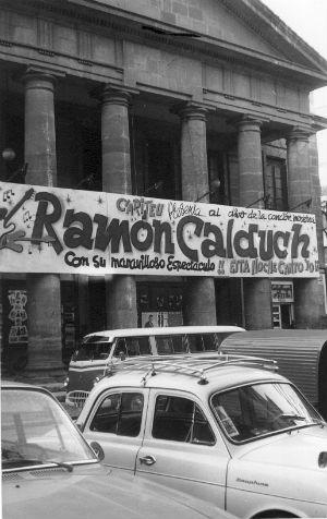 1965 Ramon Calduch anunciat al Teatro Principal d'Alacant novembre BLOG