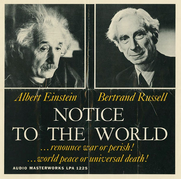 EINSTEIN Y RUSSELL (Movimiento Pugwash)