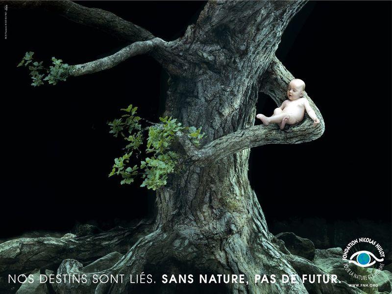 Campaña realizada por la Fundación para la Naturaleza y la Humanidad Nicolas Hulot