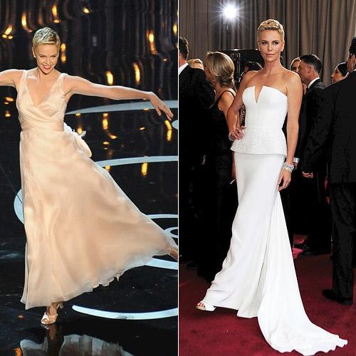 Charlize theron vestidos noche