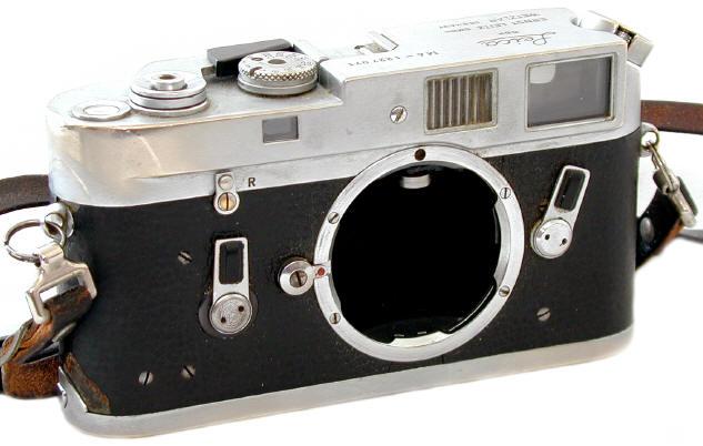 El cuerpo de la Leica M4 de Winograd