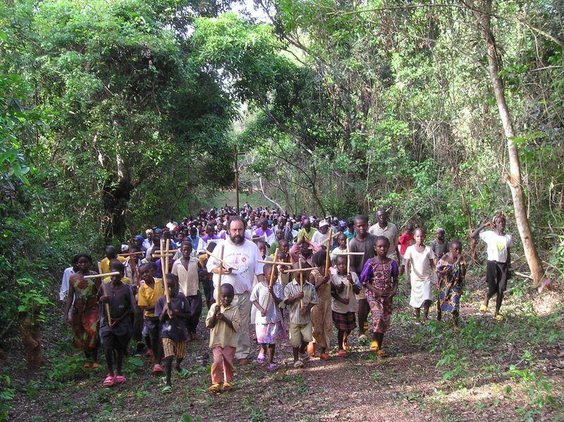 Via crucis de la Catedral de Bangassou 2