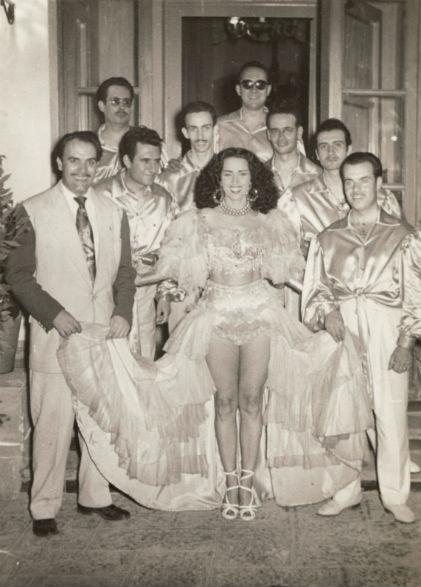 1951 Emili Eduardo Gadea el rey del mambo amb bailarina BLOG