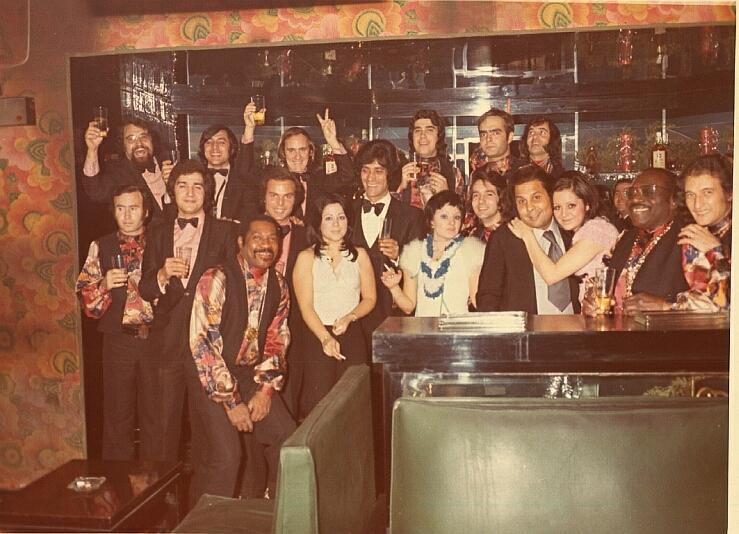 Josep Cunill amb orquestra de MONCHO Las Vegas 1971