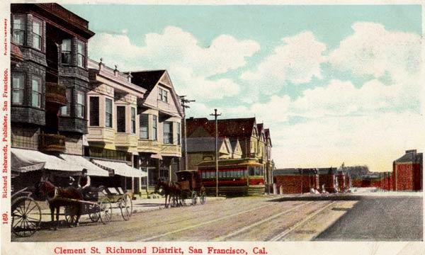 La calle Clemenet a la altura de la 6ª avenida en 1916 [Foto: WNP collection]