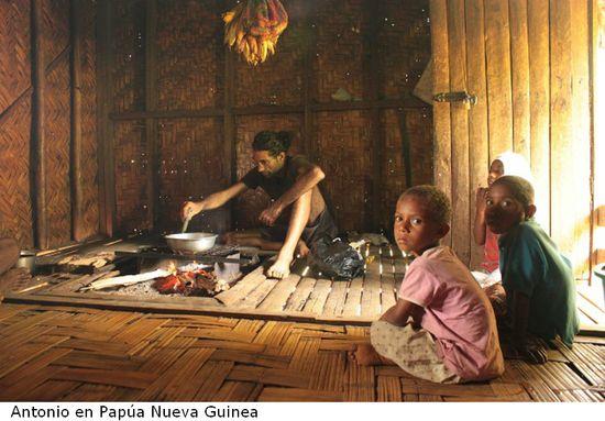 Antonio en Papúa Nueva Guinea