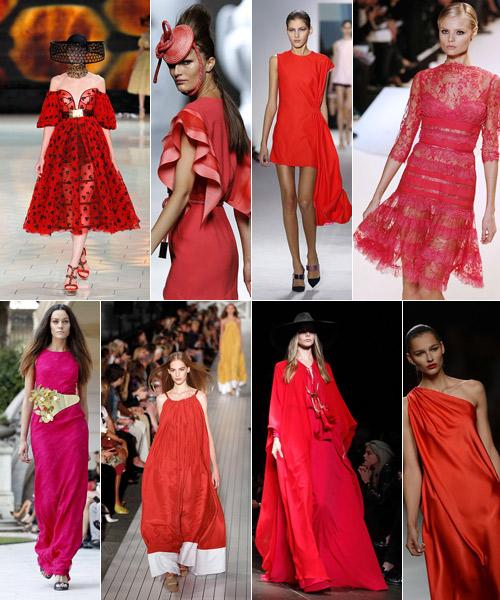 Rojos-y-rosas-en-McQueen,-Locking,-Dior,-Saab,-Torreta,-Saint-Laurent,-Hilfiger-y-Alvarno.