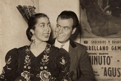 1954 Emili de la Torre amb la bailarina Antonia Abad 2 BLOG