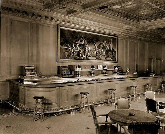 [The Pied Piper Bar, 1935 - Foto: Palace Hotel, San Francisco]