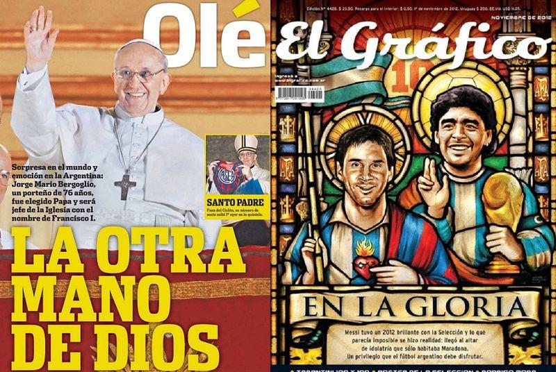 Ole-argentina + mano de dios