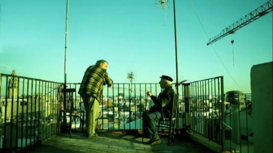 Ancianos en Confidencias en el palomar