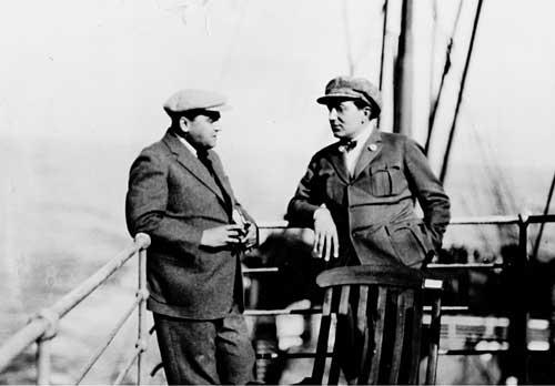 Fritz Lang & Erich Pommer