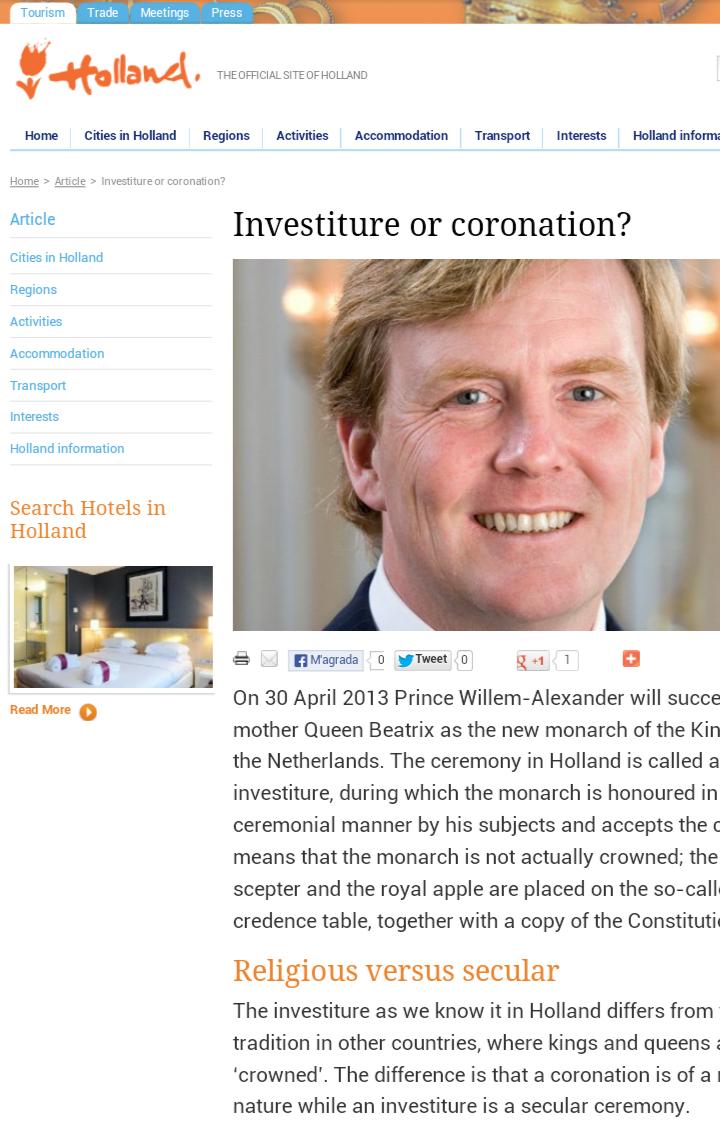 Holland blog