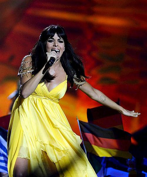 Raquel-del-Rosario,-de-El-Sueño-de-Morfeo,-en-Eurovision-2013