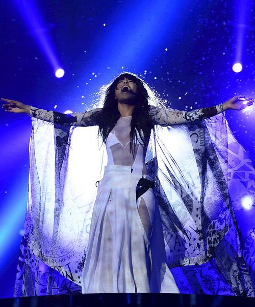 Loreen-actuando-en-Malmö,-Eurovision-2013